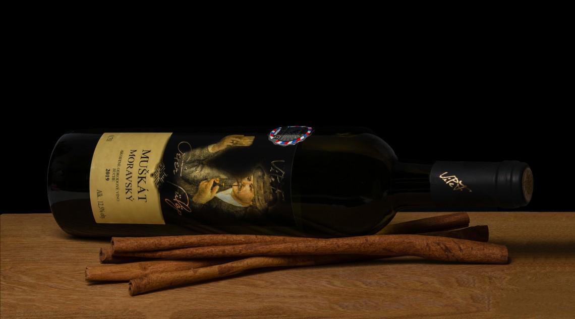 Mladé víno - Muškát moravský